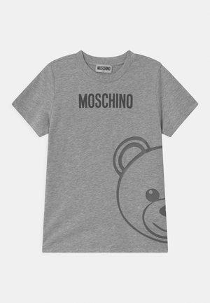 UNISEX - Print T-shirt - grey