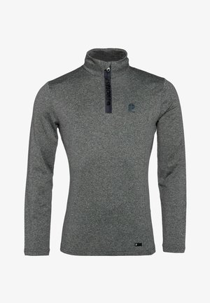 WILLOWY - Fleece jumper - dark grey melee