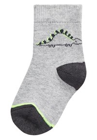 Next - MONOCHROME 5 PACK DINOSAUR SOCKS (YOUNGER) - Socks - grey - 5