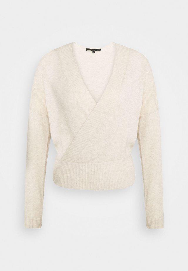 TEBBIE - Sweter - pearl melange