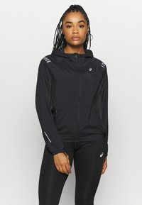 ASICS - LITE SHOW JACKET - Sports jacket - performance black/graphite grey - 0