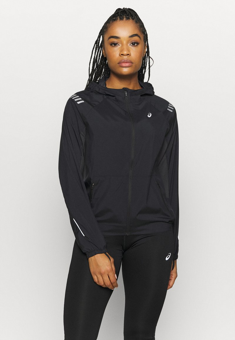 ASICS - LITE SHOW JACKET - Sports jacket - performance black/graphite grey