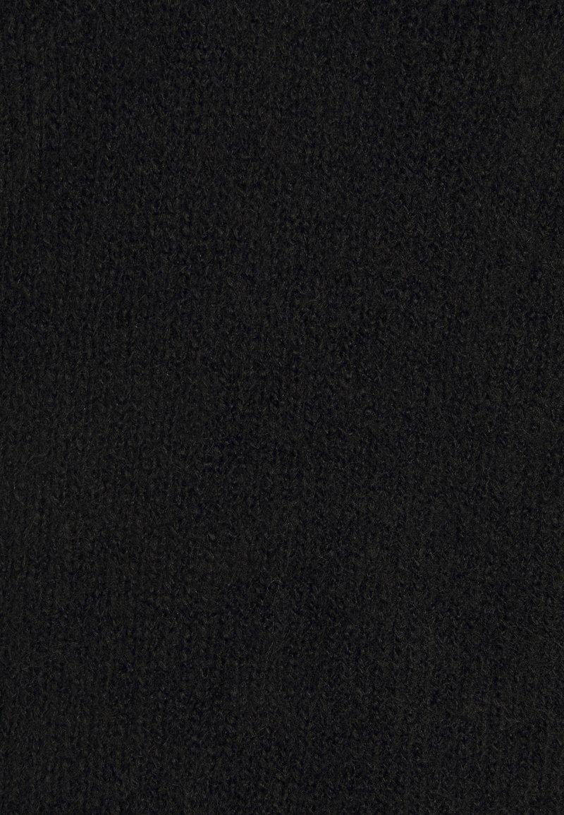 PIECES Tall PCELLEN VNECK - Etuikleid - black/schwarz If7aZj