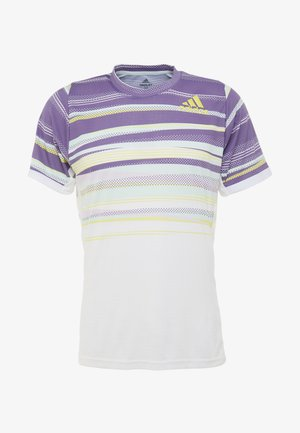 TEE - Sportshirt - white/shoyel