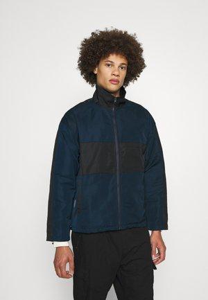 TRACKSUIT ZIP THROUGH JACKET - Training jacket - blue