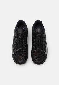 Nike Performance - METCON 6 UNISEX - Sports shoes - black/metallic silver/anthracite - 3