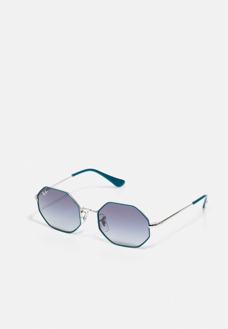 Ray-Ban - JUNIOR SUNGLASS UNISEX - Sunglasses - silver-coloured/turquoise