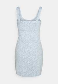 Hollister Co. - BARE DRESS - Jersey dress - light blue floral - 1