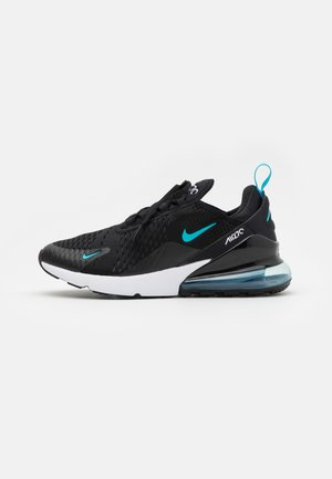 AIR MAX 270 - Baskets basses - black/light blue fury/dark smoke grey/white