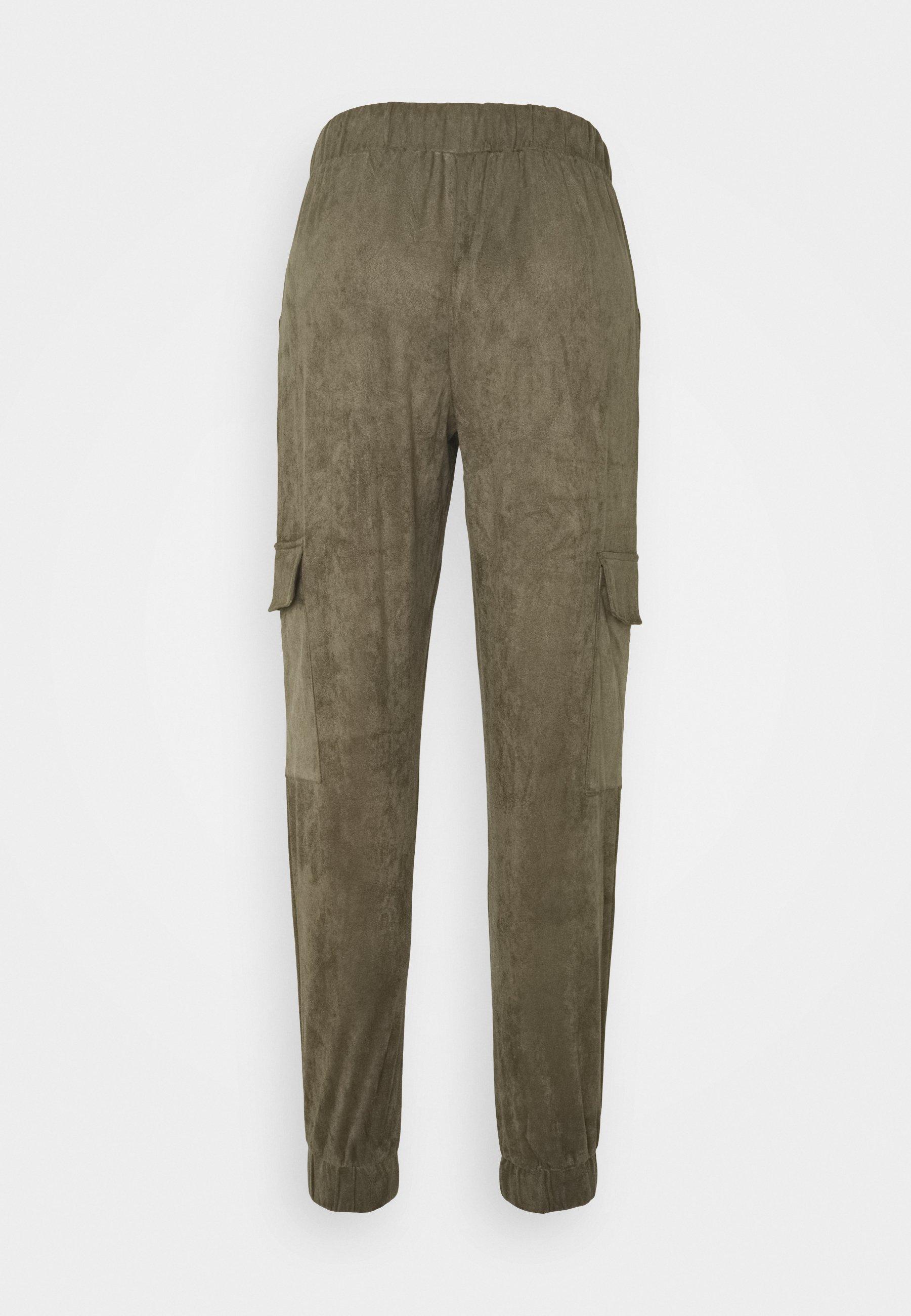Noisy May NMMILTA CARGO POCKET PANT - Pantalon de survêtement - kalamata LryWGkyh