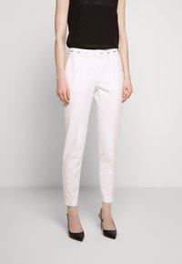 HUGO - HAZENA - Trousers - natural - 0