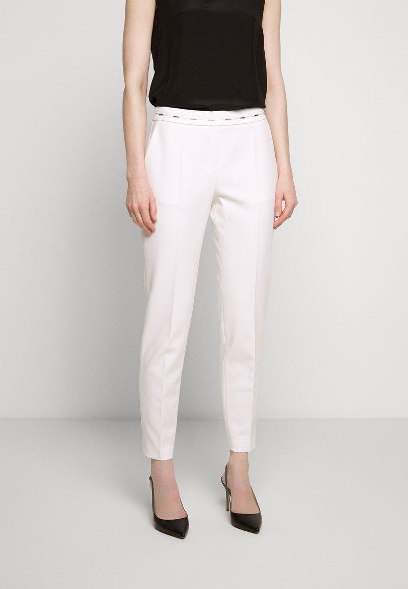 HUGO - HAZENA - Trousers - natural