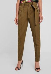 YAS - YASTUDOR PANT - Trousers - military olive - 0