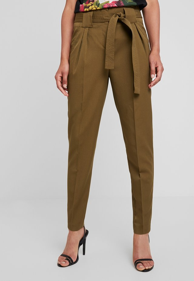 YASTUDOR PANT - Trousers - military olive