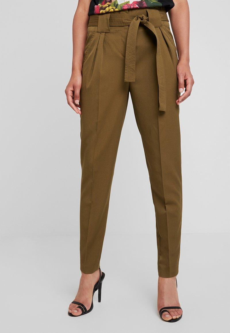 YAS - YASTUDOR PANT - Trousers - military olive