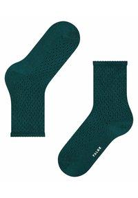 FALKE - POINTELLE - Socks - peacock - 1