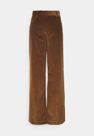 MANILA - Kalhoty - karamell