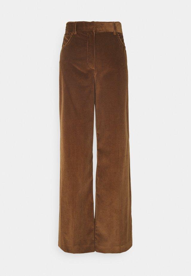 MANILA - Pantaloni - karamell