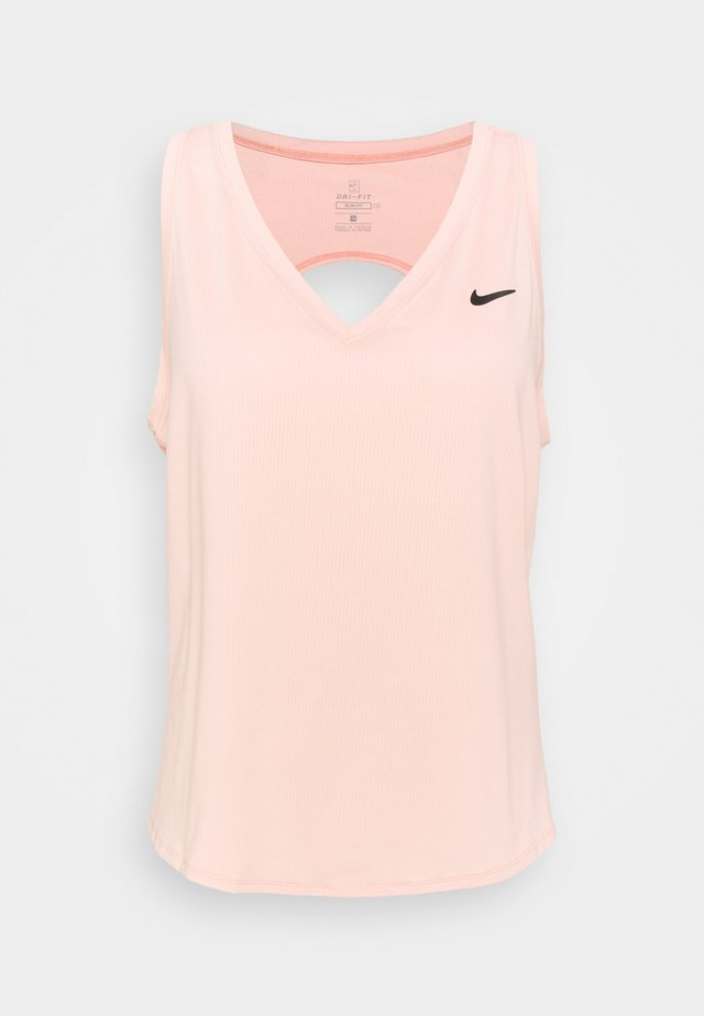 VICTORY TANK PLUS - T-shirt de sport - arctic orange/black