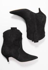 L37 - REACH OUT MORE - Cowboy/biker ankle boot - black - 3