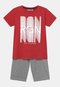 Re-Gen - TEEN BOYS SET - Camiseta estampada - tomato puree - 0