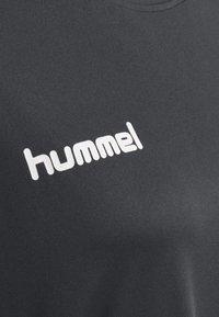 Hummel - Print T-shirt - asphalt - 2