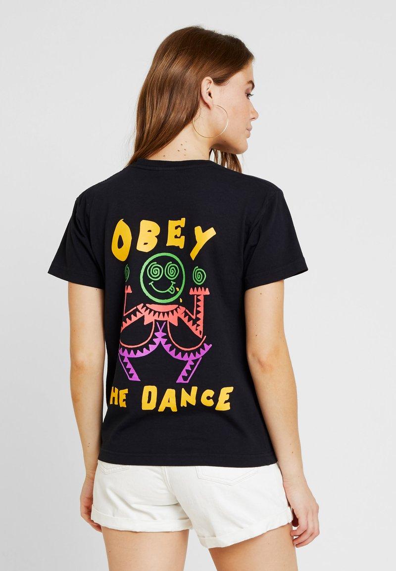 Obey Clothing - THE DANCE - Print T-shirt - black
