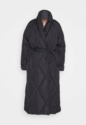LONG JACKET - Winter coat - black