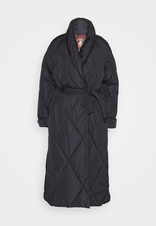 LONG JACKET - Wintermantel - black