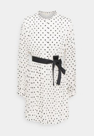 RELY - Day dress - blanc/noir