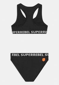 SuperRebel - SET - Bikini - black - 1