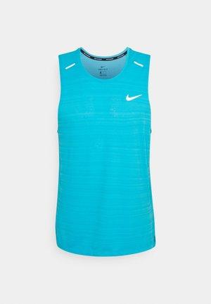 MILER TANK - Sports shirt - chlorine blue