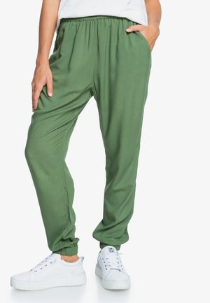Easy Peasy  - Tracksuit bottoms - vineyard green