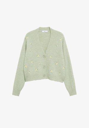 MARGARIT - Cardigan - vert pastel