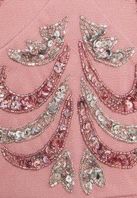Maya Deluxe - V NECK EMBELLISHED DRESS - Robe de soirée - heather rose - 2