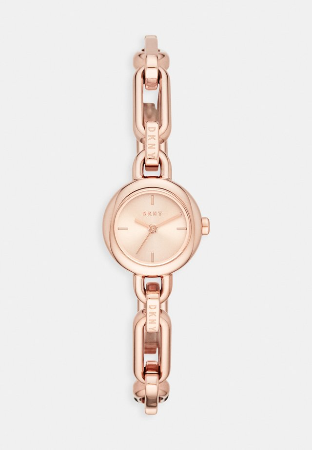 ROUND UPTOWN - Hodinky - rose gold-coloured