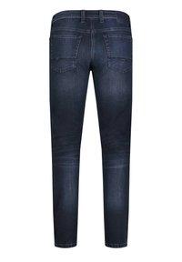 MAC Jeans - Slim fit jeans - deep blue authentic used od black - 1
