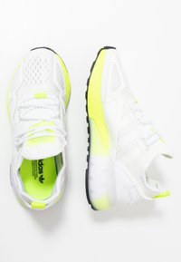 adidas Originals - ZX 2K BOOST - Tenisky - footwear white/yellow - 1