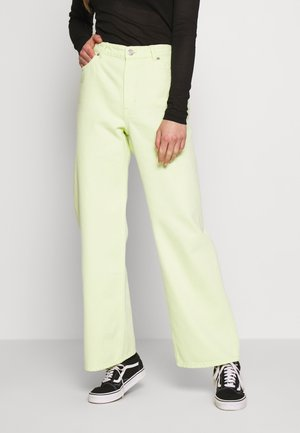 YOKO - Straight leg jeans - yellow bright v4