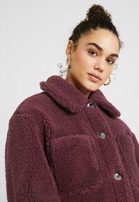 Topshop - READING - Winter jacket - burgundy - 3