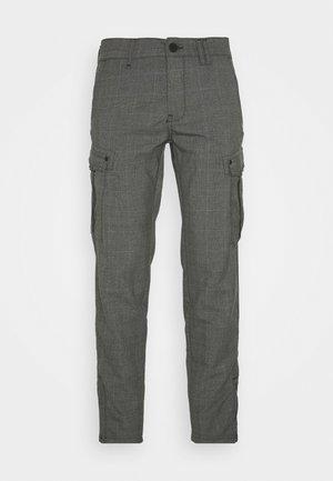 PISA CARGO GREY CHECK - Cargo trousers - grey check