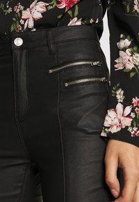 Missguided - VICEHIGHWAISTED  - Pantalon classique - black - 5