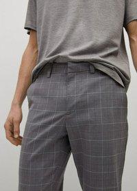 Mango - Chino kalhoty - grau - 3