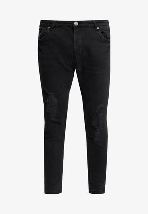 RONNIERIP - Jeansy Skinny Fit - charcoal wash
