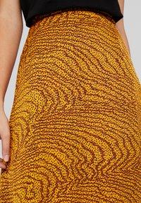 Levete Room - GHITA  - Áčková sukně - sudan brown - 4