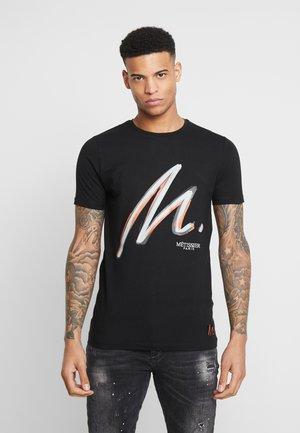 METISSIER PORTES  - Print T-shirt - black