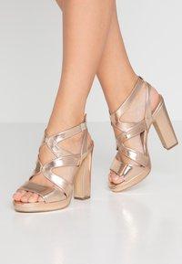 New Look - SPICY - Sandalias de tacón - rose-gold - 0