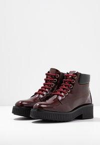 Bianco - BIACASS WORK - Ankle boot - wine red - 4
