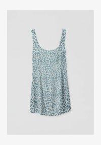 PULL&BEAR - Day dress - blue - 4