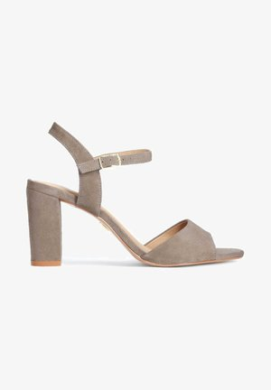 MARCIE - High heeled sandals - taupe